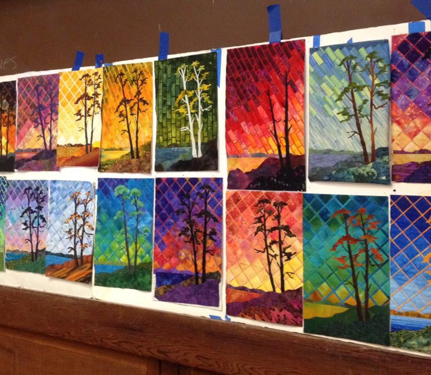 Light up your landscape quilts