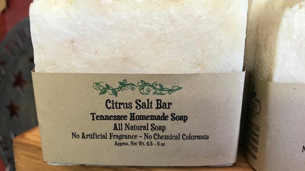 Citrus Salt Bar