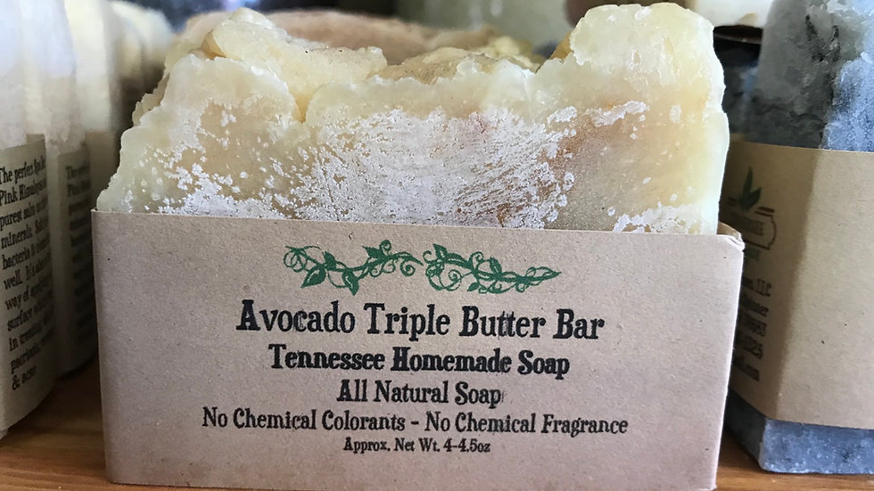Avocado Triple Butter Bar