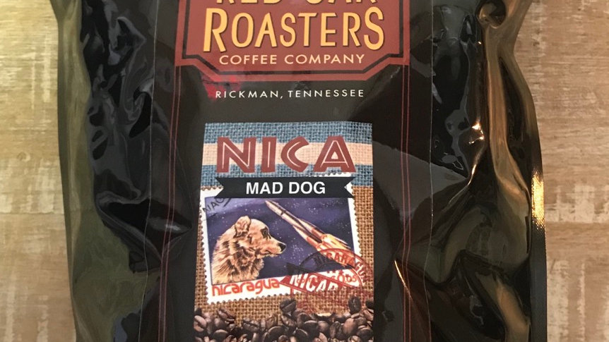 Red Oak Roaster's Mad Dog Dark 12oz.