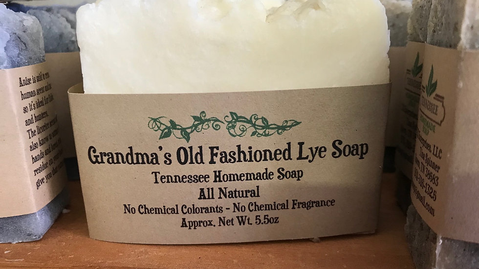 Grandma's Old Fashioned Lye Soap