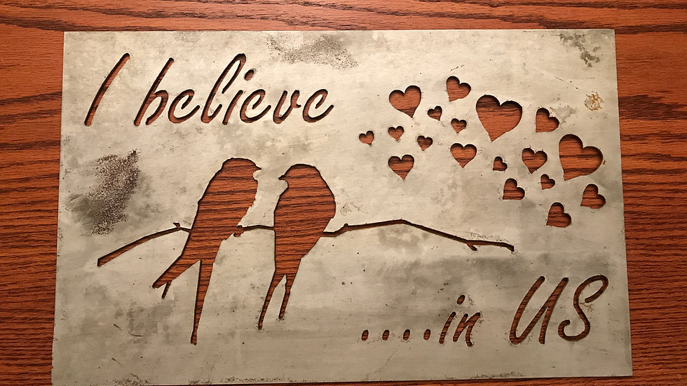 """""""I believe in us"""" sparrows"""