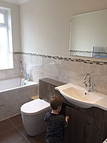 WC and vanity basin unit, great storage solution