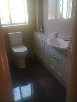 Installed, tiling by Tarrant Bathrooms
