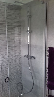 Over head shower drencher and kit