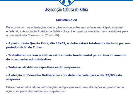 Comunicado Presidência AAB.