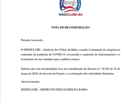 Comunicado Presidência AAB