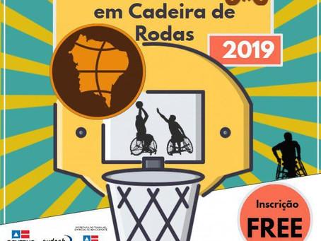 1ª Copa Nordeste de Basquetebol 3x3 em cadeira de rodas.