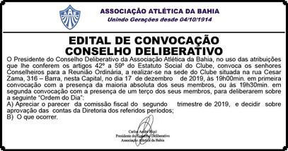 Convocação AAB.