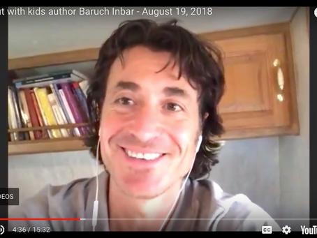 Author of the week: Baruch Inbar - Red Clover Reader