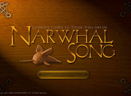 NARWHAL SONG - My animated feature, Part 1