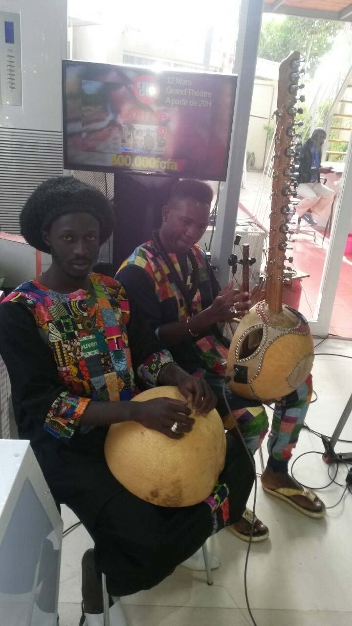 Performance @TFM TV Station, Sénégal