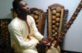 Kora player - Boujou Badialy Cissoko Portrait