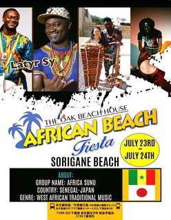 African Beach Fiesta in Chiba, Japan