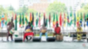 Boujou Cissok wth Kouma at IMA NO AFRICA 2018
