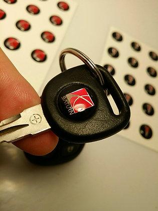 Pontiac or Saturn Key Logo Inserts