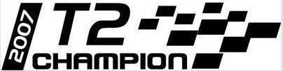 T-2 Champion or SSBC Champion Decal