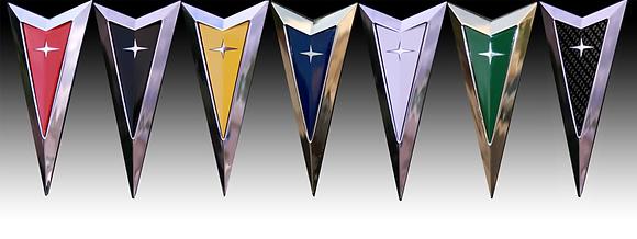 Pontiac Arrow Color Change Decals
