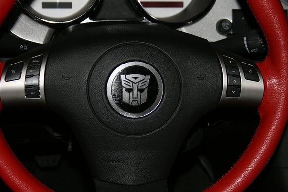 Soltice/Sky Steering Wheel Emblem - Autobot