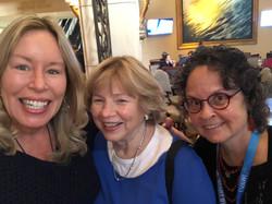 Judge Rosemary Collins and Leslye Orloff