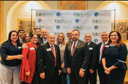 Miami judicial colleagues at KidSide event