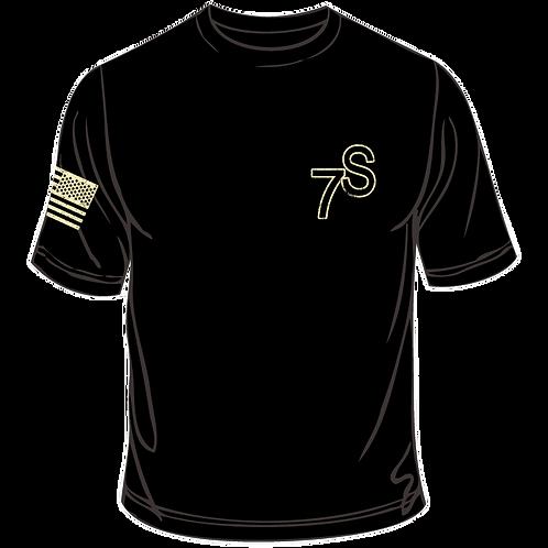 SRO Flag T Shirt Black