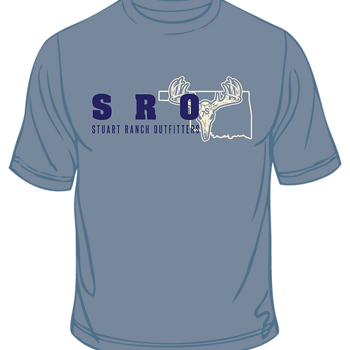 SRO Logo T Shirt Baby Blue