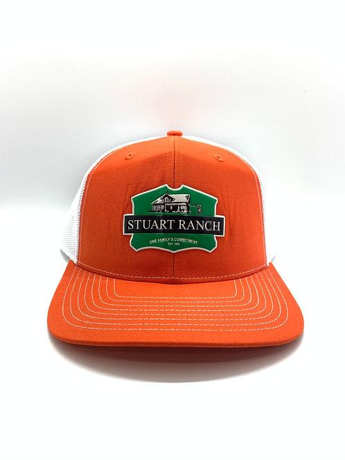 Big House Patch Blaze Orange Trucker Hat