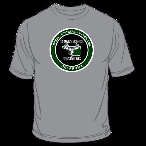 SRO Circle Logo T-Shirt Gray