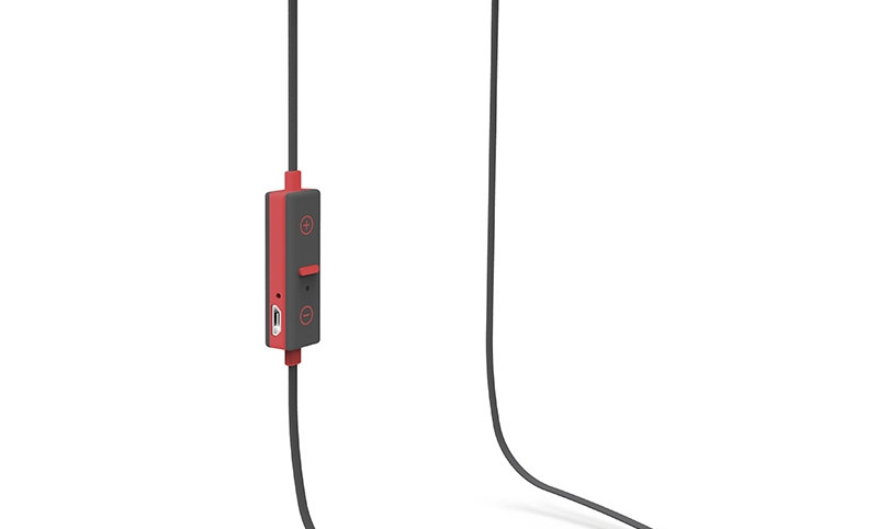 X-One ASBT1000R Auriculares Bluetooth +micro Rojo