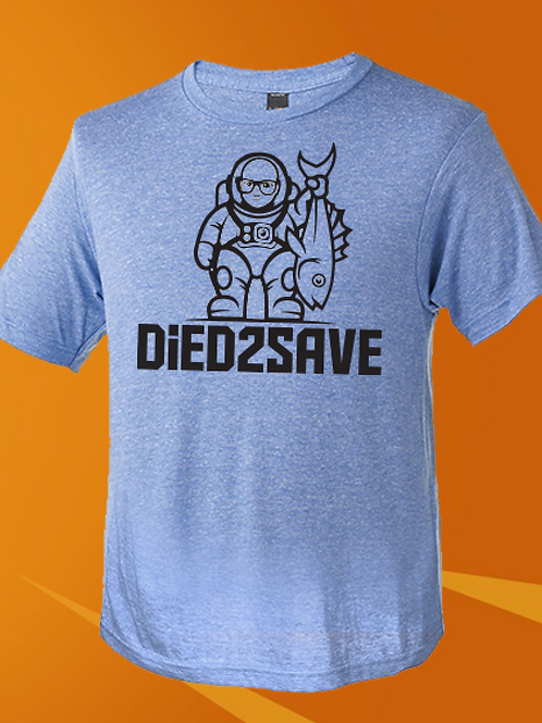 Died2Save Tri-Blend Tee