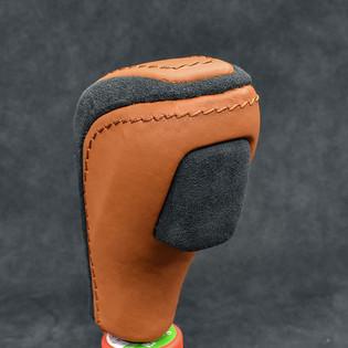 E90 Custom Shift Knob Upholstery