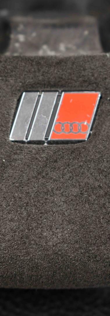 Audi Steering Wheel Upholstery