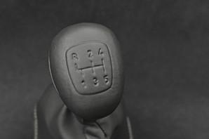 W201 Dodleg Shift Knob Leather Upholstery