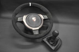 911 Porsche Steering Wheel Upholstery