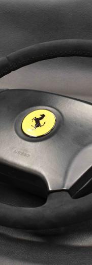 Ferrari Steering Wheel Upholstery