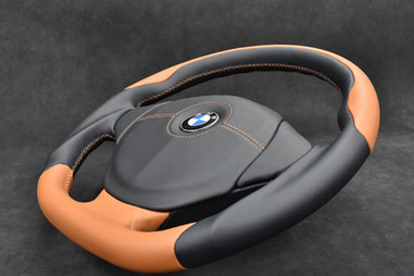 BMW E36 Custom Steering Wheel Upholstery and Reshaping