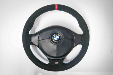 E36 BMW Steering Wheel Upholstery