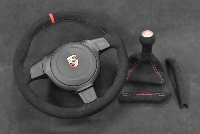 997 Porsche Steering Wheel Upholstery