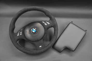 E46 BMW Steering Wheel Upholstery