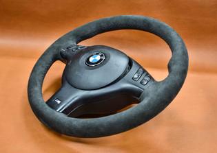 E46 BMW Steering Wheel Upholstery