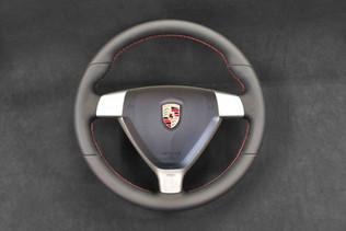 Porsche Steering Wheel Upholstery