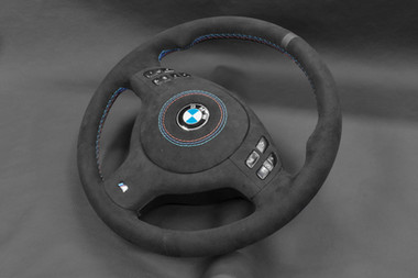 E46 BMW Steering Wheel UpholsteryBMW Steering Wheel Upholstery