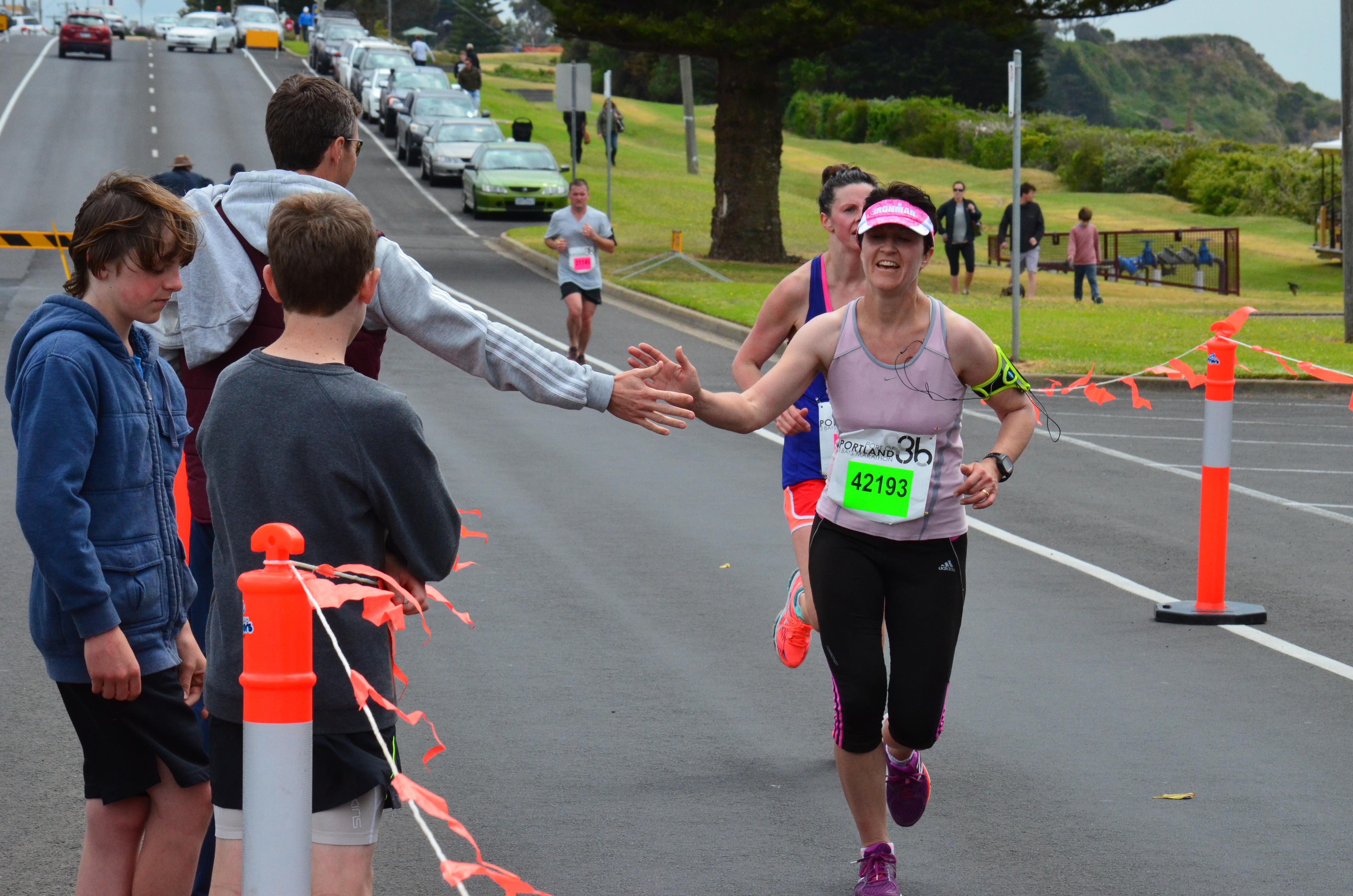 AnnMaree Jolley finish.JPG