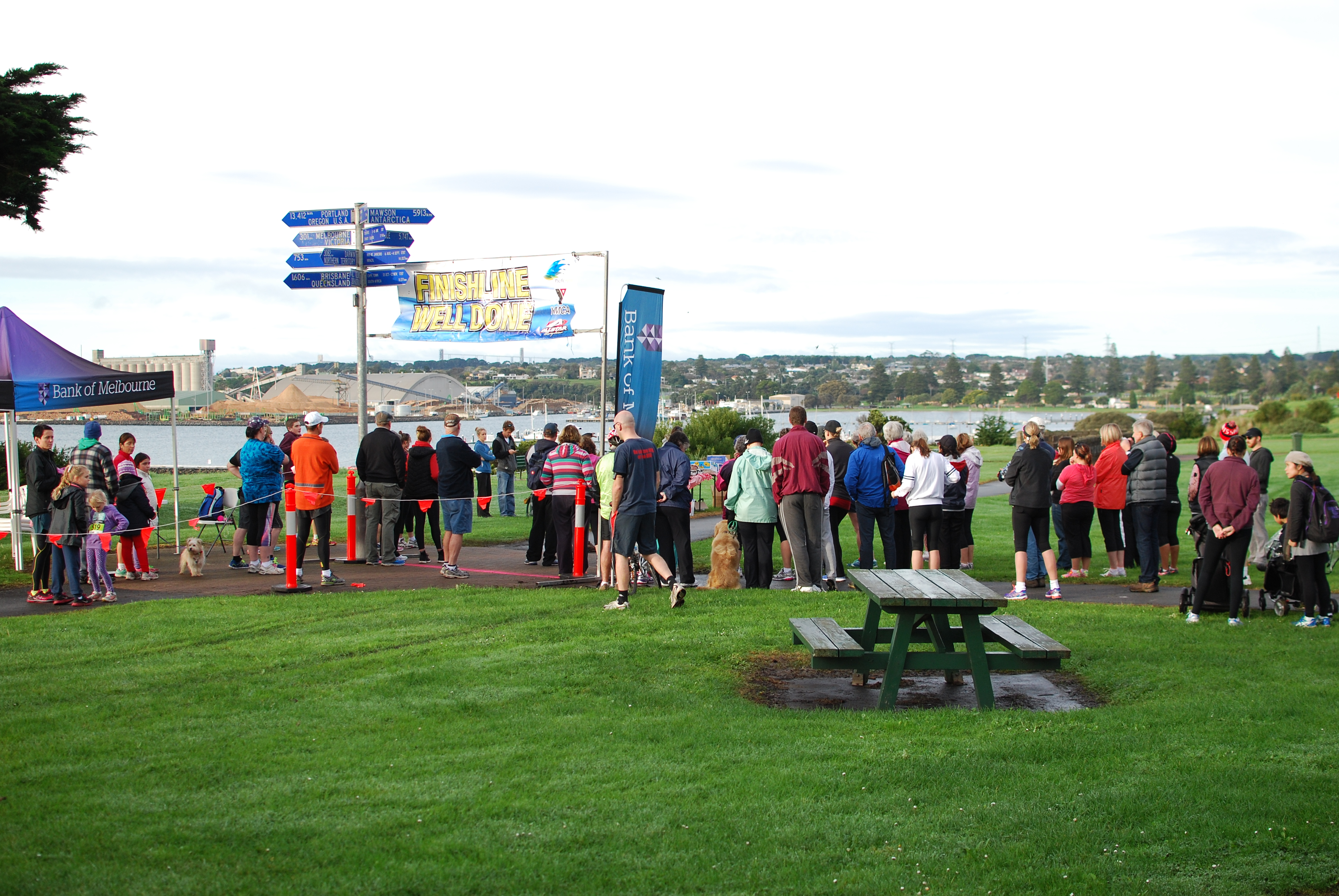 5 and 9km run race briefing.JPG
