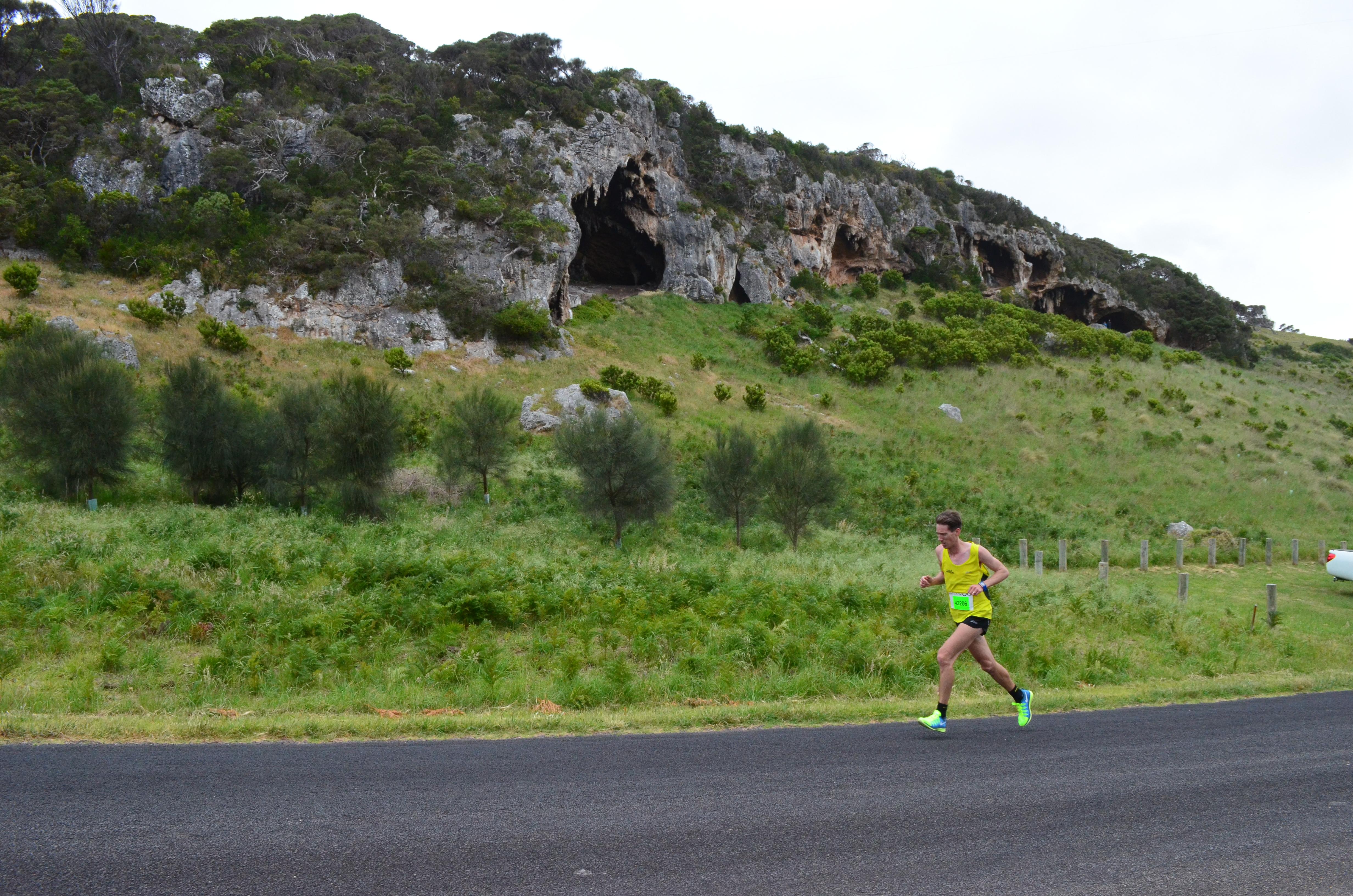 Marathon lead Bridgewater Lakes Caves.JPG