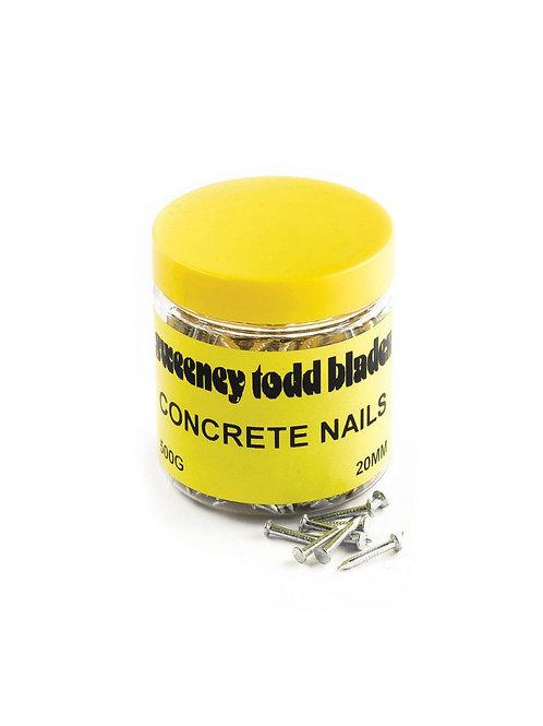 Concrete Nails Silver 500g Tub