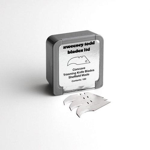 heavy duty concave blades - Plastic Silver Box