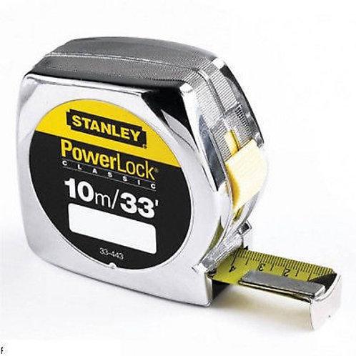 10m Stanley Powerlock Tape