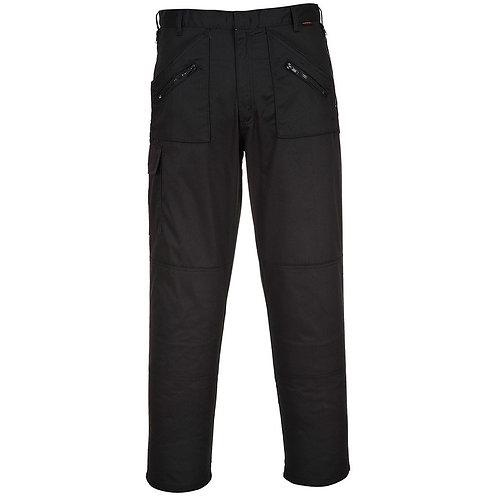 Multi Pocket Action Trousers - Black